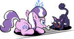 Diamond and Dazzle: Playtime by MagerBlutooth
