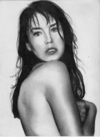 Isabelle Adjani by depoi