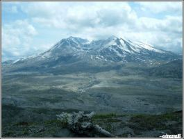 Mt. St. Helens: Two by adnamA16
