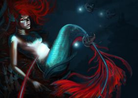 The Little Mermaid by Julia-Alison