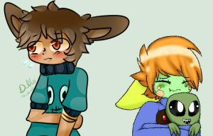 Timmy and Waru collab by Damian-Fluffy-Doge
