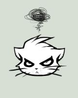 Pissy Kitty. by AtrociousNothing