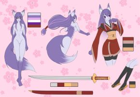 Ayumi reference by howlzapper