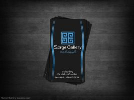 Serge Gallery Bussines card by Reza-Leo