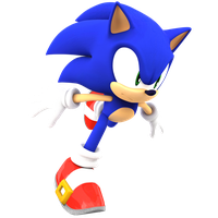 Sonic 2000x2000 Render by Nibroc-Rock