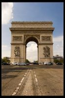 Arc de Triomphe I - Front Shot by Wyco