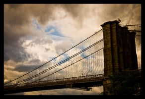 Brooklyn Bridge by NoelleLaBelle
