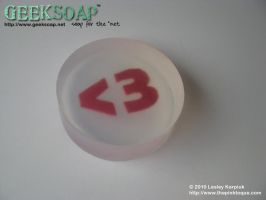 Heart Emoticon GEEKSOAP by pinktoque