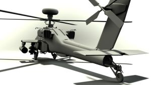 AH-64D Apache Longbow - WIP2 by typotter