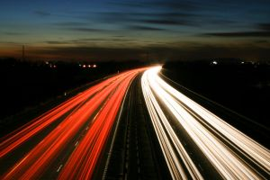M3 Motorway Traffic Trails - 4 by fruitycube