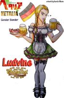 APH- femGermany at Oktoberfest by KarolaKH