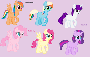 MLP shipping adoptables 1 by Honey-PawStep