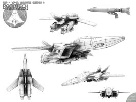 VF-1A Valkyrie Sketch 4 by Bamboo-Learning