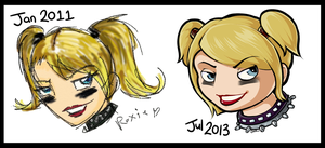 Old Art Redraw - Roxie Richter by Electrical-Socket