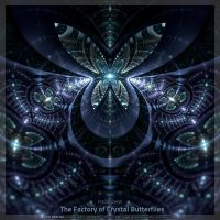 The Factory of Crystal Butterflies by fractalyzerall