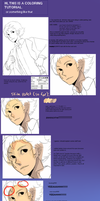 a coloring tutorial by cursesisay