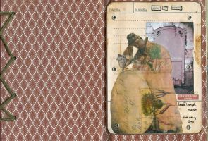 Altered Diary 1 by LauraTringaliHolmes
