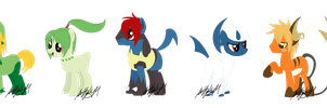 PokePony Adopts -CLOSED- by m00nstonee