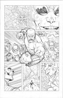 Invincible 70 p11 pencils by RyanOttley