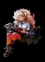 Luna Lovegood by Zaphk