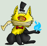 Bill Cipher Contest Prize by BarleyandJazzy