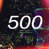 NEON MEGA PACK 500 WATCHERS by LittleDr3ams