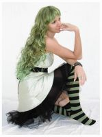 green fairy 1 by Lisajen-stock