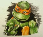 Michelangelo Thats Me by MonkeyAndSparrow