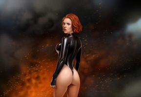 Black Widow by DrewGardner