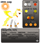 Shair Solarus Character Sheet by XemXemStar