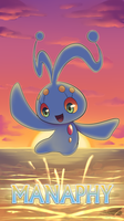 Pokemon 20th Anniversary- Manaphy by Sol-Lar-Bink