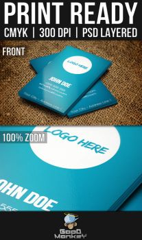 Simple Theme Business Card by thone050