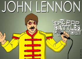 Epic Rap Battles of History John Lennon by Twinsvega