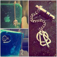 Deathly Hallows Phone Accessory by zott0123