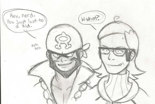 Archie and Maxie by AngryOldBat