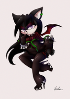 Darcie new outfit +comm+ by BlackDragon-kin