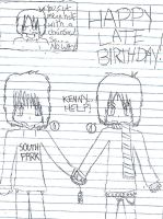 Happy late birthday :D by southparkfanfic13