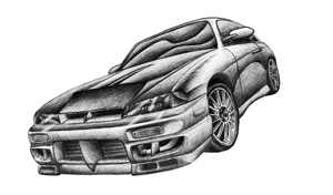 Silvia in pencil by NeoZeroX