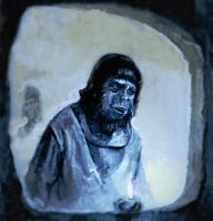 Apes TV series Illustration by hill19652000