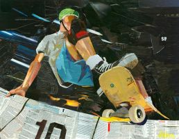 Skateboard Collage by johnstiles