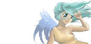 Scribble angel by Bariarti