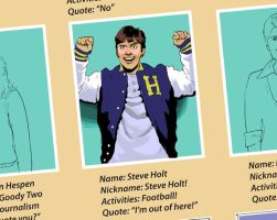 STEVE HOLT by robertgant