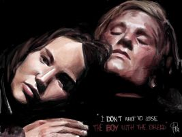 Katniss and Peeta_The Hunger Games by joanap
