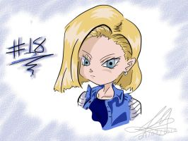 Android #18 'Dragon Ball Z' by DollMarionette