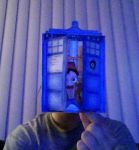 Tardis Card by SanariSebuna