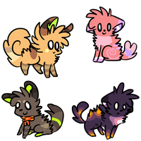 closed fluffy adopts by alfvie