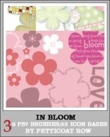 In Bloom PS7 Bases + Brushes by petticoatrow