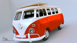 VW Camper Van by tcn01