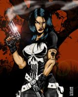 LA FEMME PUNISHER-JUNGLE LOVE by chungusamongus