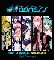 Pack Renders Vocaloid by TamyRT